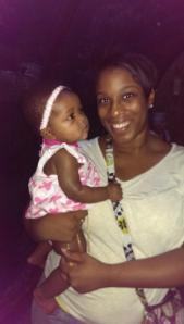 Brittani and baby