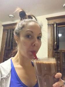 Post workout Isagenix Isalean pro shake!